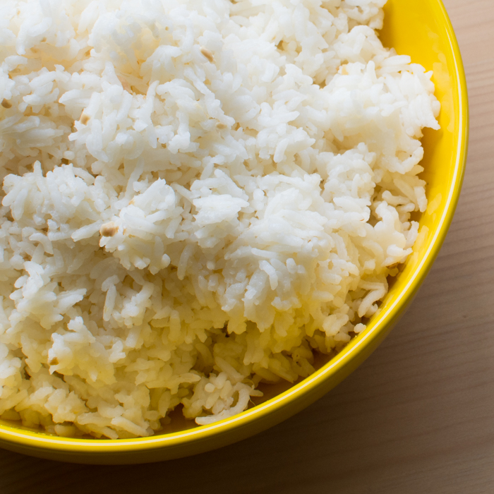 Instant Pot: Garlic Rice | Feed Your Skull