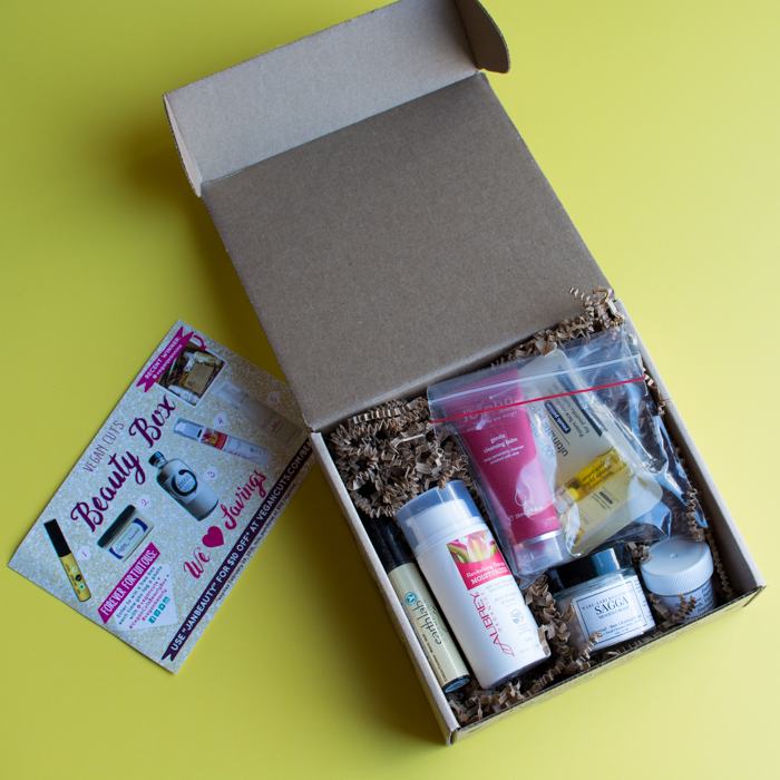 Vegan Cuts Beauty Box Review {January 2016} | Feed Your Skull