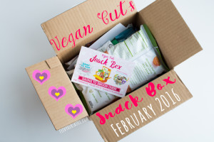 Melt Your Heart!! Vegan Cuts Snack Box Review {February 2016} |
