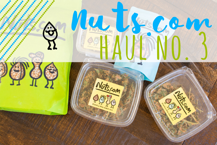 nuts.com Haul No. 3 | Feed Your Skull