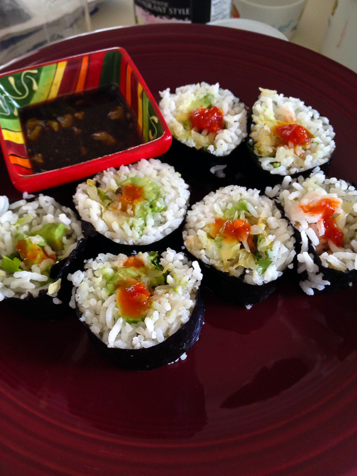 Sauerkraut Avocado Maki | Feed Your Skull