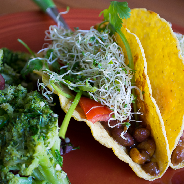 Easy Vegan Tacos | Feed Your Skull