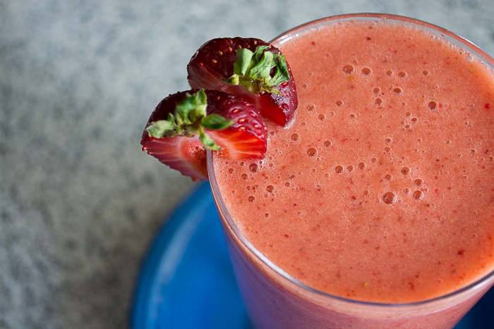Strawberry Smoothie | Feed Your Skull