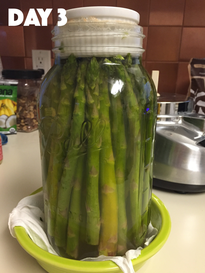 Fermentation Fail: Mason Jar Asparagus | Feed Your Skull