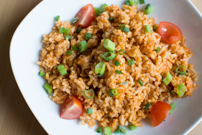One Pot Instant Pot Tex-Mex Rice | Feed Your Skull