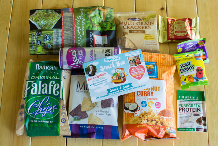 April 2015 Vegan Cuts Snack Box | Feed Your Skull