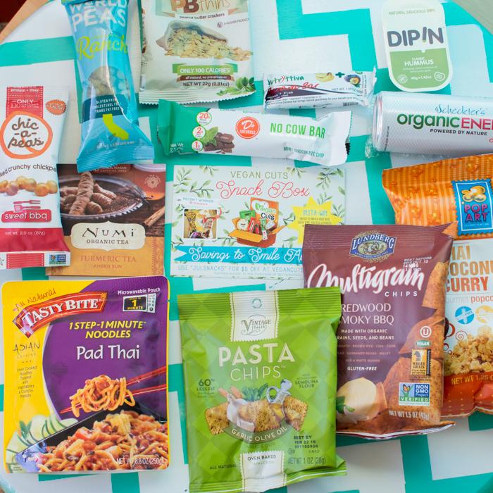 July 2015 Vegan Cuts Snack Box | Feed Your Skull