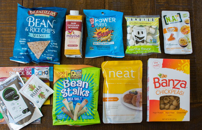 Vegan Cuts Snack Box, September 2015 | Feed Your Skull