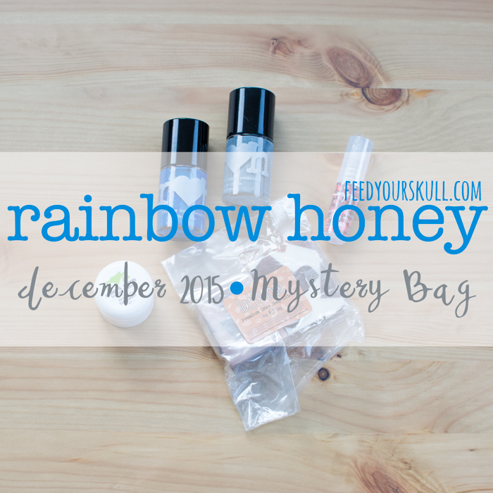 December 2015 Rainbow Honey MB | Feed Your Skull